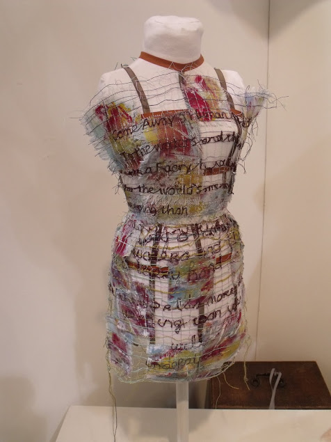 Anne Jeffares, Textile Artist, draws inspiration from the