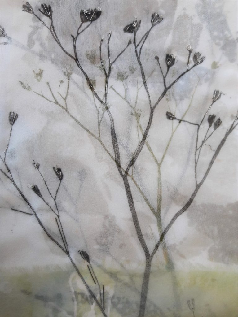 Winter Hedgerow I, Kathrina Hughes
