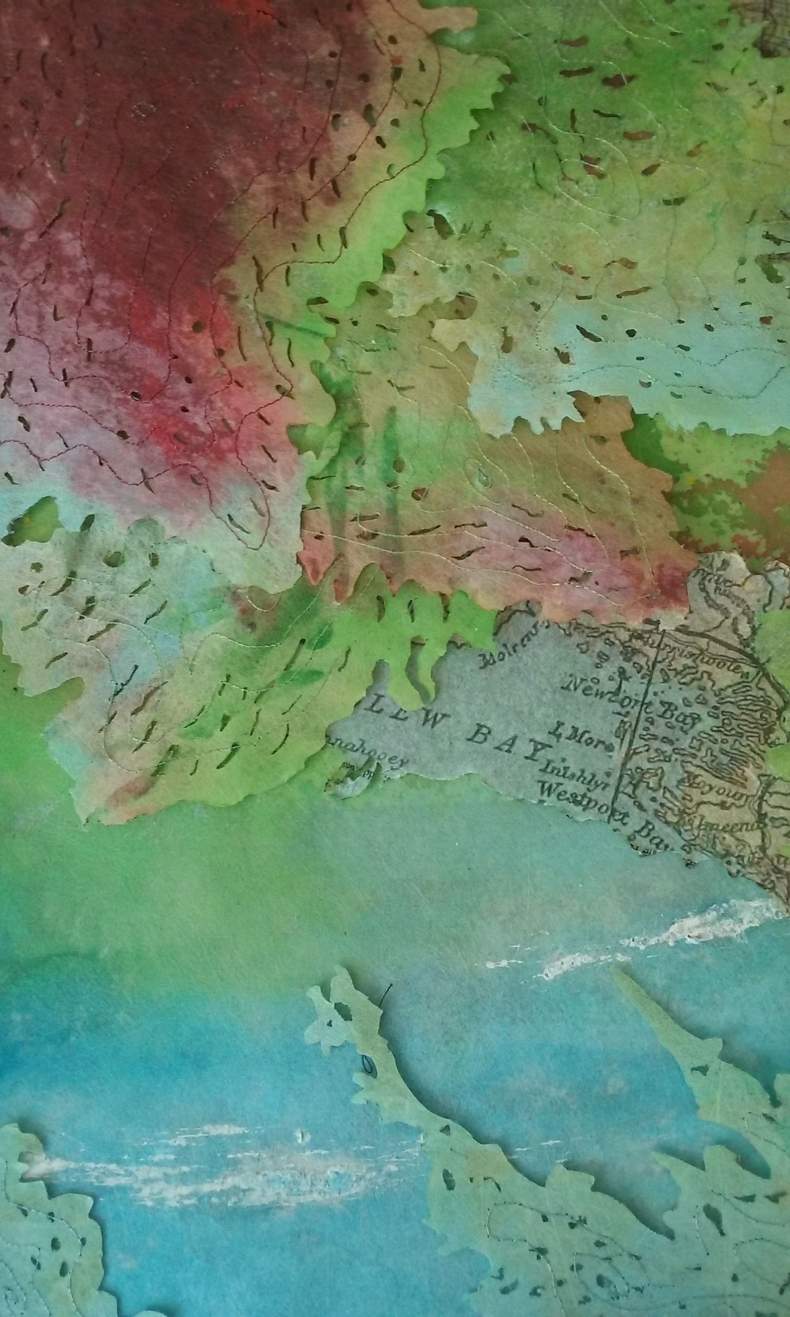 Clew Bay (detail), Marie Dunne, element15