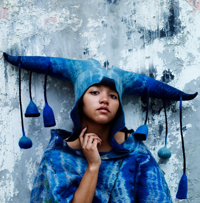 gladys paulus felt and textile artist masks and hats
