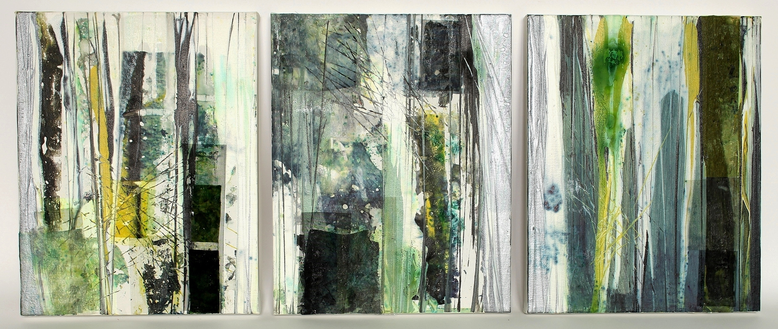 All Thawed Out (triptych), Elaine Peden